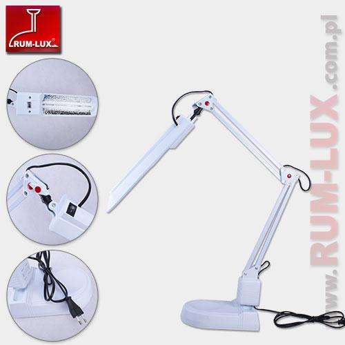 Lampka biurkowa Sigma biała RF636